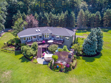 Gated Entry Leads to a Serene Setting on the Clackamas River